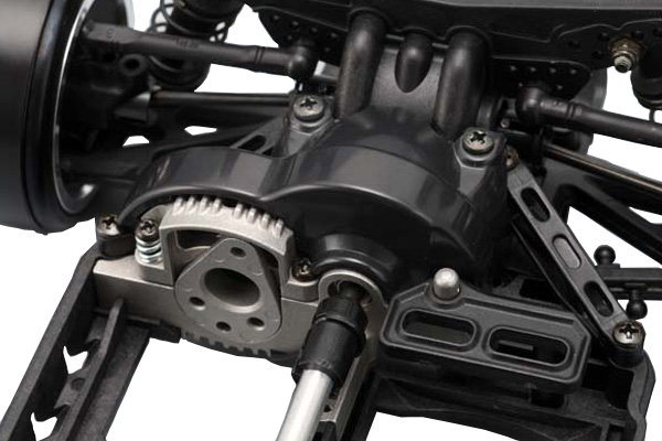 Yokomo basic drift kit motor mount details