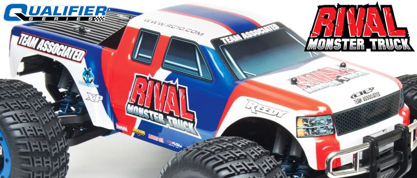 TEAM ASSOCIATED AE QUALIFIER SERIES RTR RIVAL MONSTER TRUCK