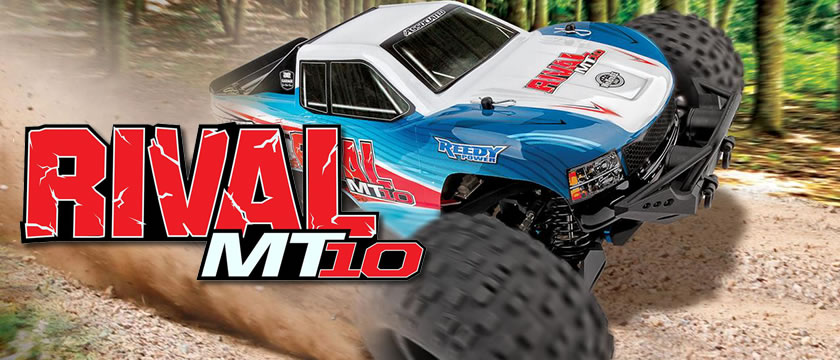 THE TEAM ASSOCIATED RIVAL MT10 RTR TRUCK