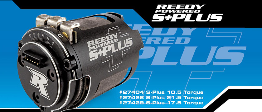REEDY S-PLUS TORQUE SPEC CLASS BRUSHLESS MOTOR