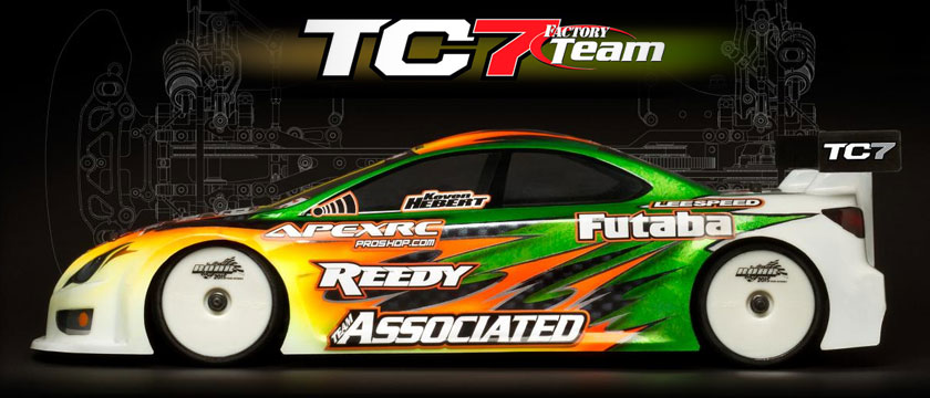 TEAM ASSOCIATED TC7 FACTORY TEAM CAR KIT