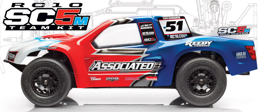 TEAM ASSOCIATED RC10SC5M TEAM KIT SHORT COURSE TRUCK