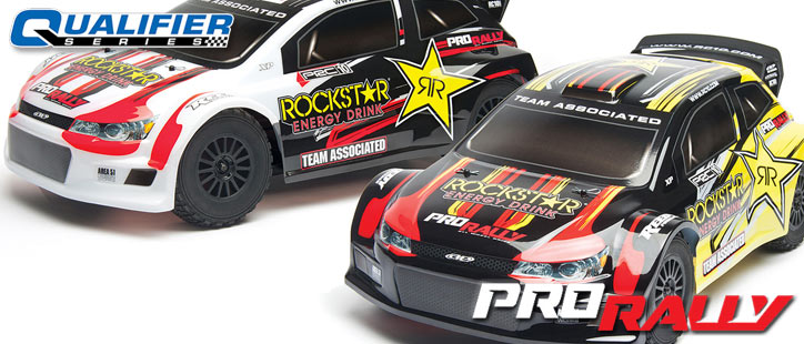 ASSOCIATED QUALIFIER SERIES PRO RALLY RTR CAR