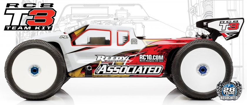 TEAM ASSOCIATED RC8T3 TEAM KIT 1/8 NITRO TRUGGY
