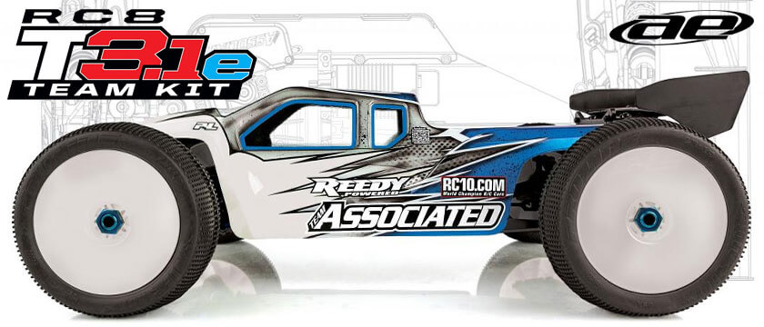 TEAM ASSOCIATED RC8T3.1E TEAM KIT 1/8TH ELECTRIC TRUGGY