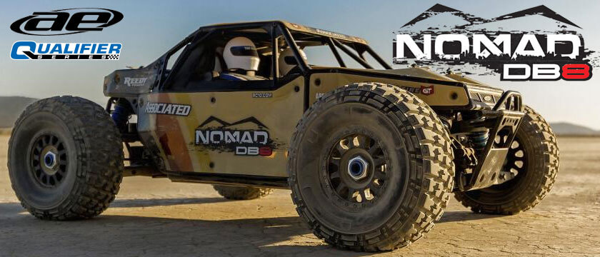 TEAM ASSOCIATED NOMAD DB8 RTR 1/8TH ELECTRIC BUGGY
