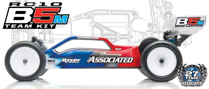 Team Associated RC10B5M Mid-Motor Team Kit