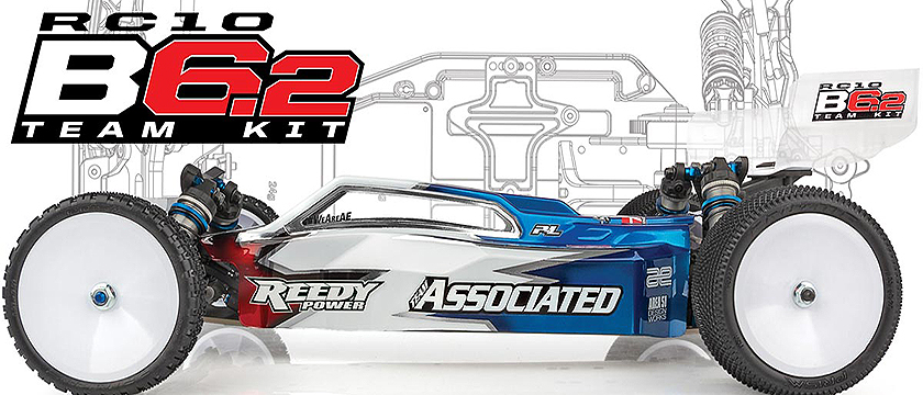 NEW! TEAM ASSOCIATED RC10B6.2 TEAM KIT