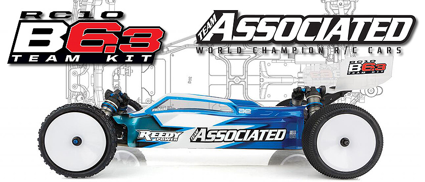 NEW1 TEAM ASSOCIATED RC10B6.3 TEAM KIT