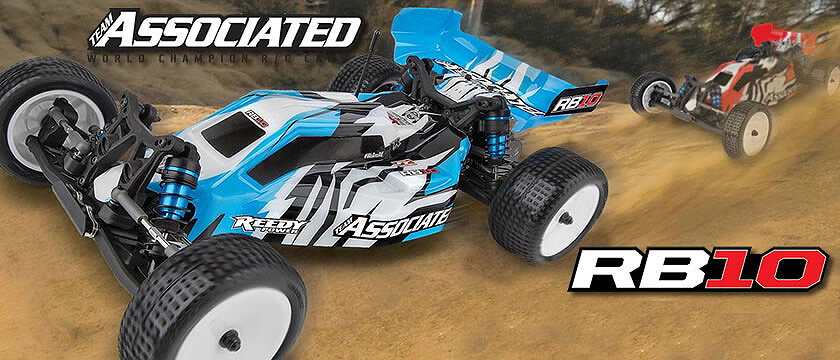 NEW! TEAM ASSOCIATED RB10 RTR 1/10 BUGGY