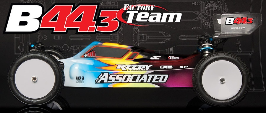 Team Associated B44.3 Factory Team 1/10th 4WD Electric Off-Road Buggy