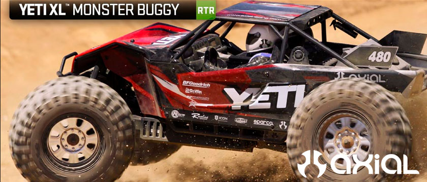 AXIAL YETI XL 1/8th 4WD RTR MONSTER BUGGY
