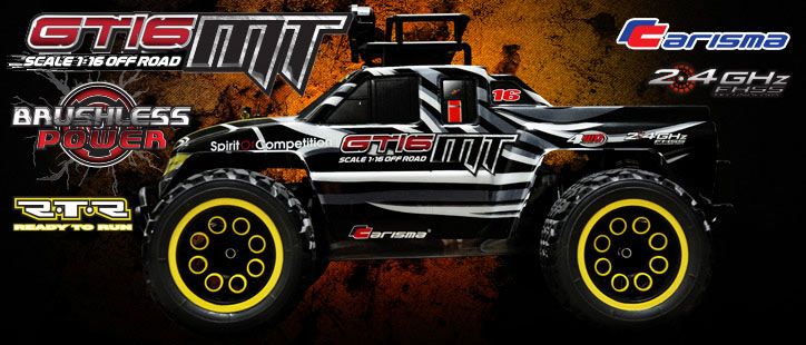 Carisma GT16MT RTR 1/16th Monster Truck