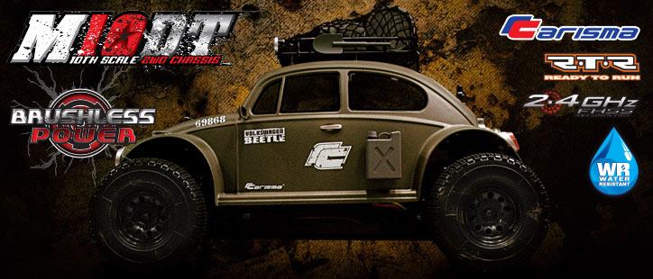 Carisma M10DT RTR Volkswagen Beetle
