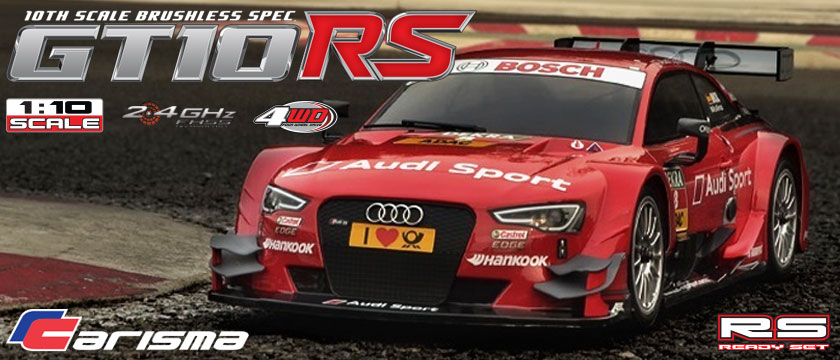 CARISMA GT10RS AUDI RS5 DTM READY SET