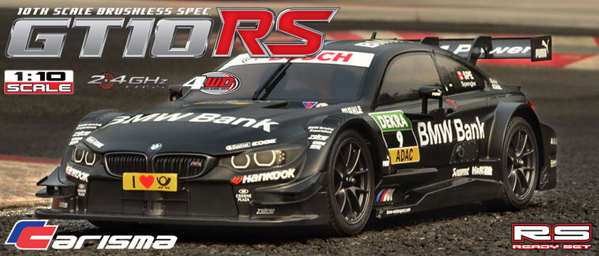 CARISMA GT10RS BMW M4 DTM READY SET