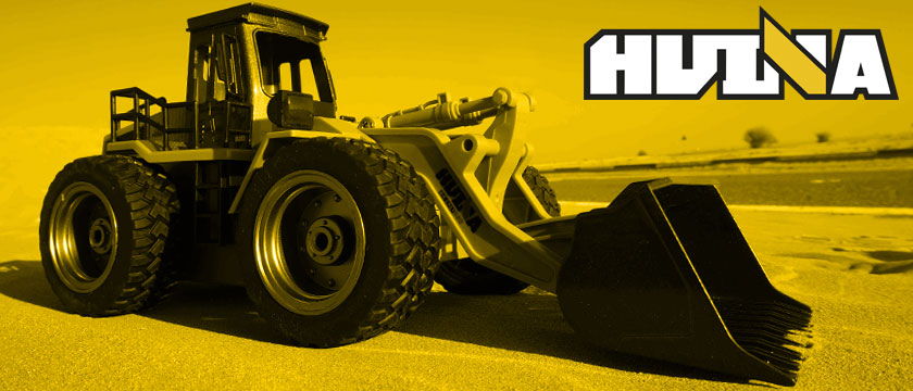 HUINA 1/14TH SCALE RC BULLDOZER