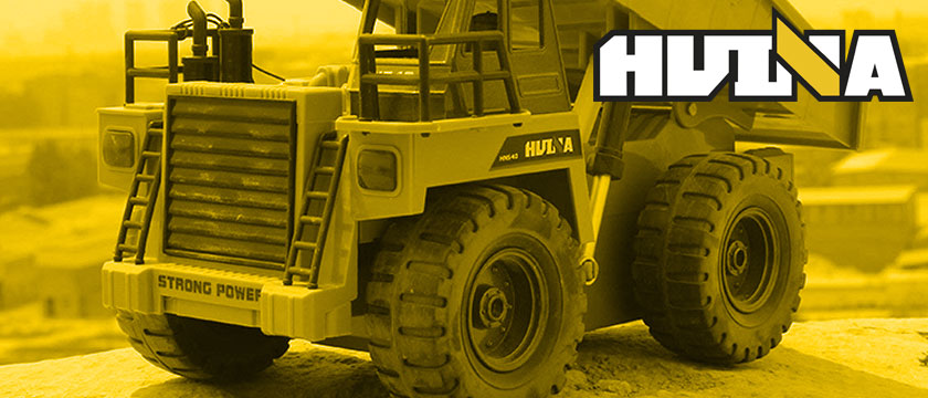 HUINA 1/12TH SCALE RC DUMP TRUCK