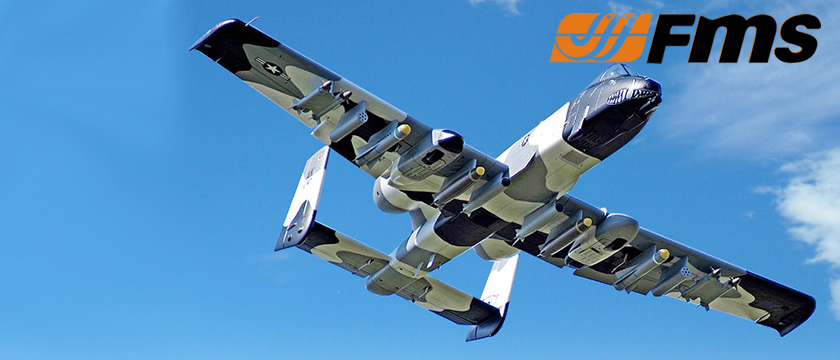 FMS 1500MM A-10 WARTHOG TWIN V2