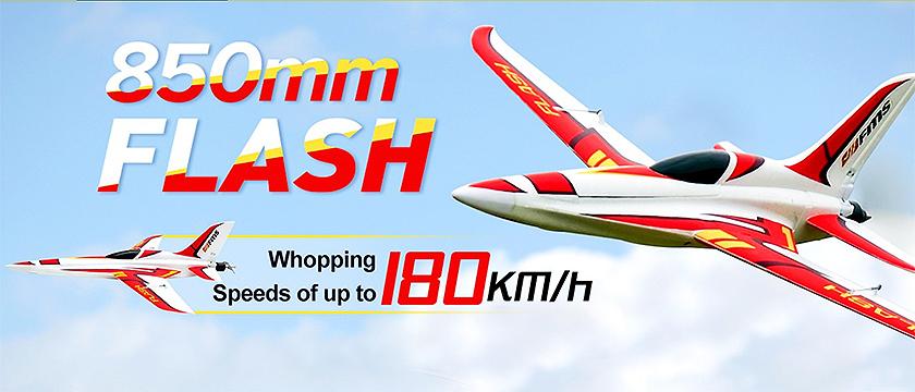 NEW! FMS 850MM FLASH PROP JET ARTF