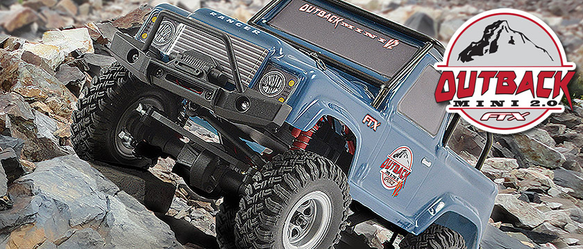 FTX OUTBACK MINI 2.0 RANGER 1:24 READY-TO-RUN