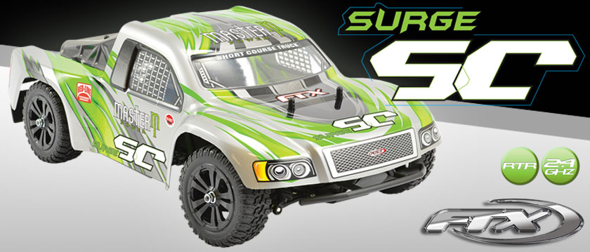 FTX SURGE 1/12TH RTR BRUSHED SHORT COURSE TRUCK
