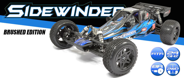 FTX SIDEWINDER RTR 2WD BRUSHED  DUNE BUGGY