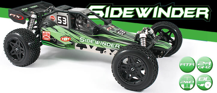 FTX SIDEWINDER RTR 2WD BRUSHLESS  DUNE BUGGY