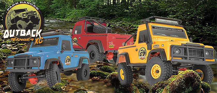 FTX OUTBACK RANGER XC PICK UP RTR 1:16 TRAIL CRAWLER