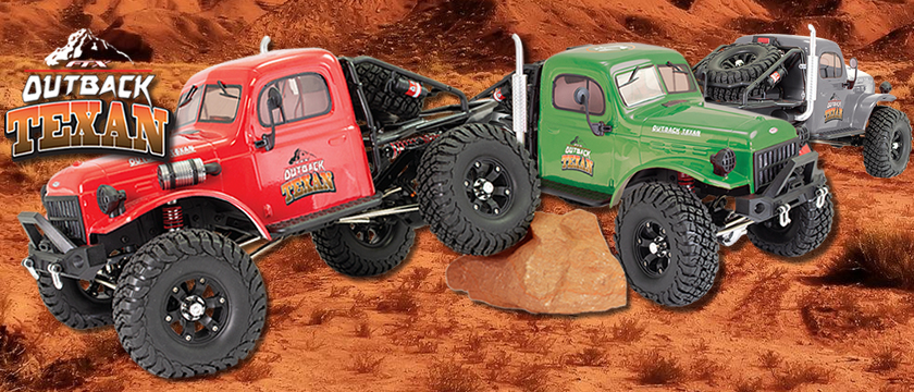 FTX OUTBACK TEXAN 4X4 RTR 1:10 TRAIL CRAWLERS