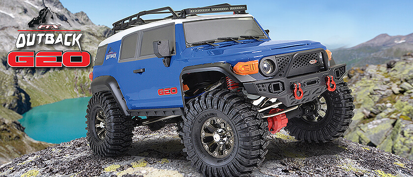 NEW! FTX OUTBACK GEO 4X4 RTR 1:10 TRAIL CRAWLER