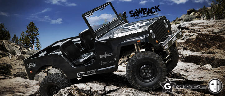 Gmade Sawback 1/10th Scale Crawler Kit