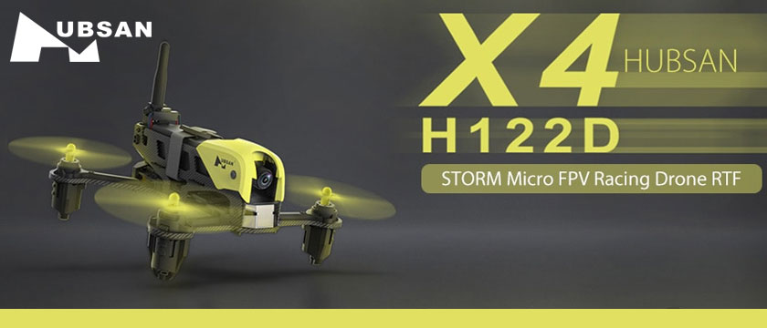 HUBSAN X4 STORM RACING DRONE