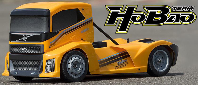 NEW! HOBAO HYPER EPX 1/10 CAB TRUCK ROLLER