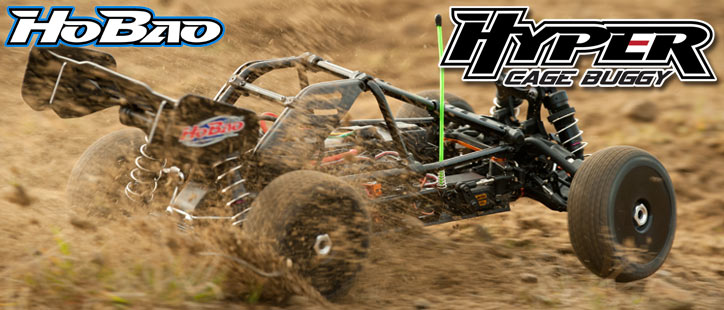 HOBAO HYPER CAGE BUGGY - Electric Rolling Chassis