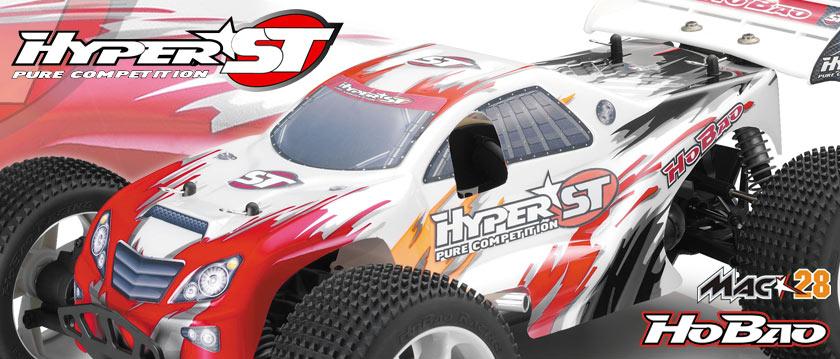 HoBao Hyper ST Nitro Truggy