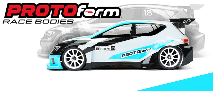 PROTOFORM 'EUROPA' M-CHASSIS CLEAR BODY
