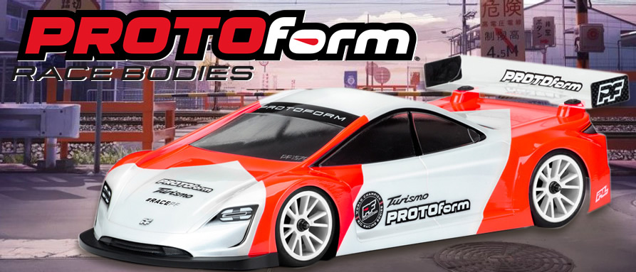 NEW! PROTOFORM TURISMO LIGHTWEIGHT BODYSHELL 190MM