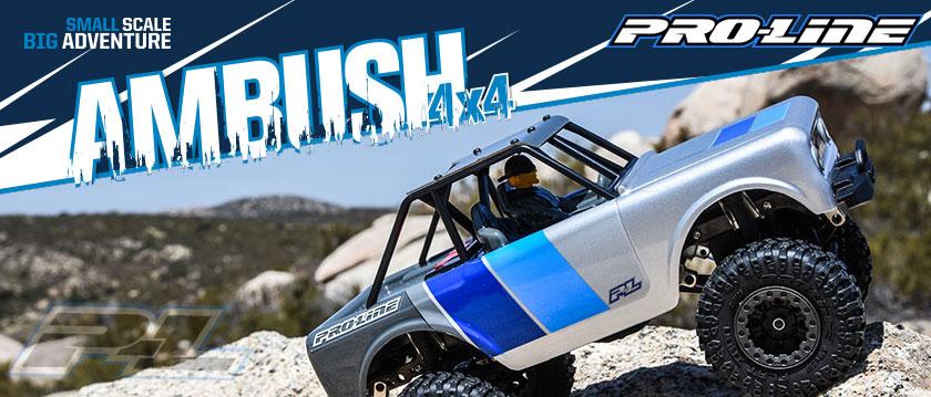 PRO-LINE AMBUSH RTR 1/25TH 4X4 MINI SCALE ROCK CRAWLER