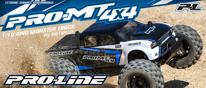 PRO-LINE PRO-MT 4X4 1/10TH MONSTER TRUCK KIT