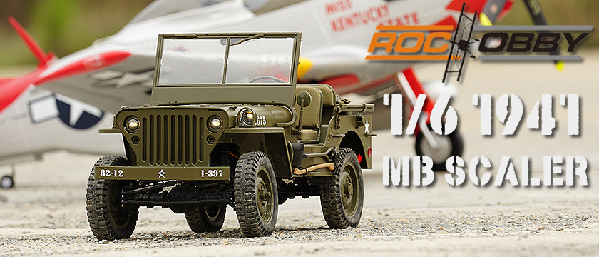 ROC HOBBY 1/6TH MILITARY SCALER RTR