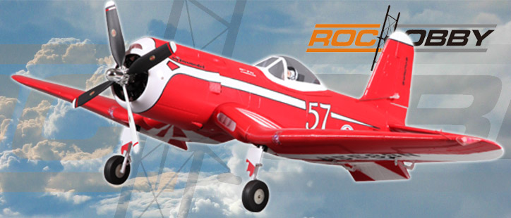 Roc Hobby F2G ARTF 1100mm Corsair Racer