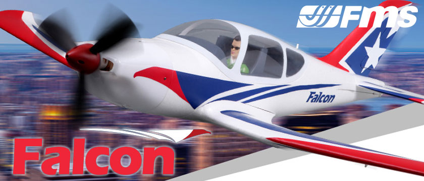 ROC HOBBY FALCON 1220MM ARTF TRAINER