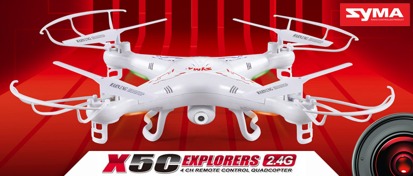 SYMA X5SC 2.4G QUADCOPTER WITH HD CAMERA