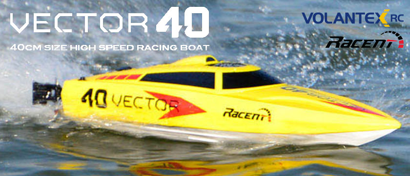 VOLANTEX VECTOR 40 BRUSHLESS RTR SPEED BOAT