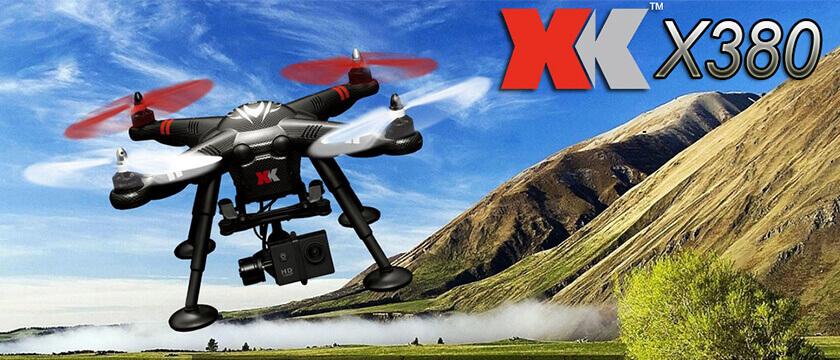 XK INNOVATONS X380 DETECT QUADCOPTER RANGE