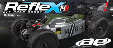 TEAM ASSOCIATED REFLEX 14B BRUSHLESS RTR BUGGY