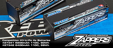 REEDY ZAPPERS 'SG2'SHORTY LIPO BATTERY