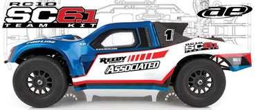 TEAM ASSOCIATED RC10SC6.1 TEAM KIT SHORT COURSE TRUCK