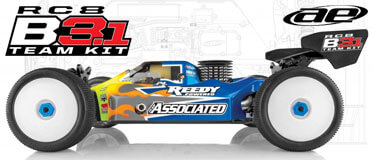 TEAM ASSOCIATED RC8B3.1 TEAM KIT 1/8TH NITRO BUGGY